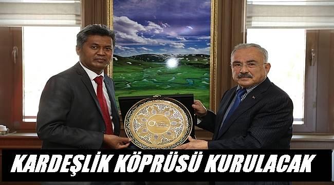 Hassen, Başkan Güler'i ziyaret etti