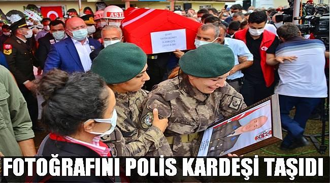 Şehit Astsubay Fatih Güney dualarla cennete uğurlandı
