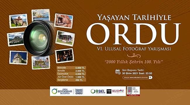 'Yaşayan Tarihi ile Ordu' fotoğraf yarışması