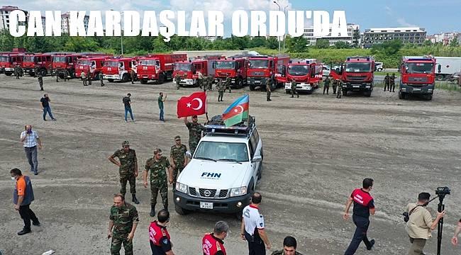 Can Azerbaycan Ekipleri Ordu'da