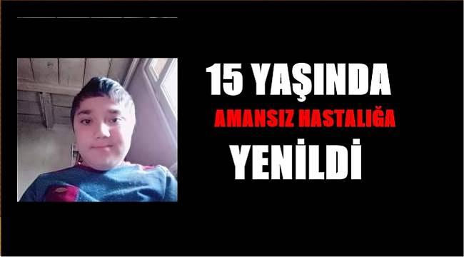 15 yaşındaki Fatih sevenlerini üzdü