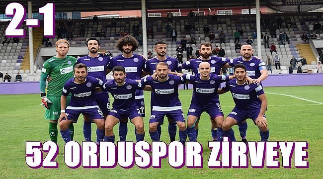 52 Orduspor Kızılcabölükspor'u geçti: 2-1