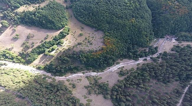 8 km kanalizasyon hattı