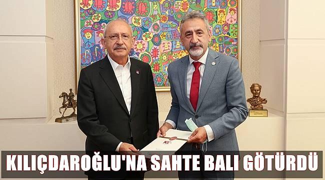 Adıgüzel sahte bal dosyasını Kılıçdaroğlu'na sundu