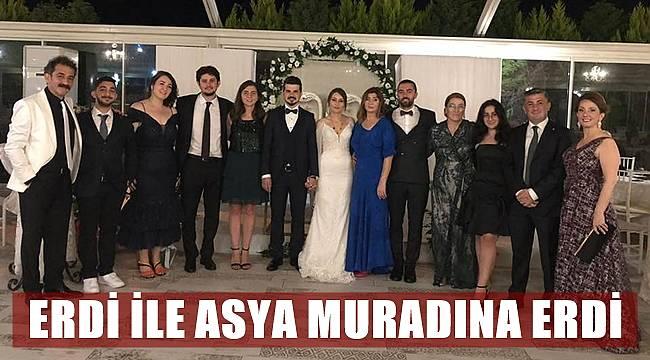Asya ile Erdi evlendi
