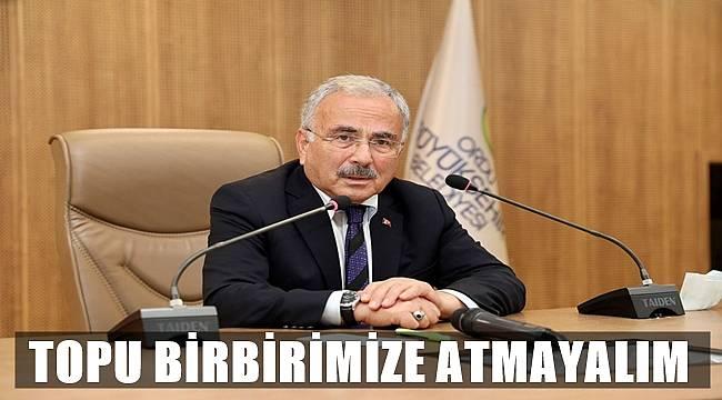 Başkan Güler: Can dostlarımız bize emanet