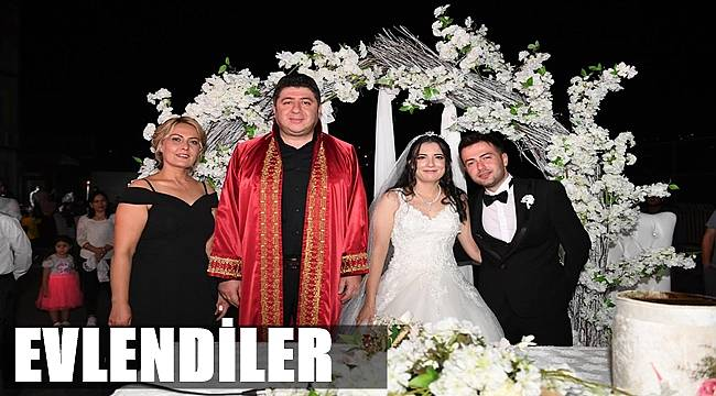 Cansu ile İhsan evlendi