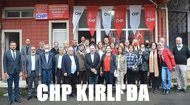 CHP Kırlı temsilciliği açıldı