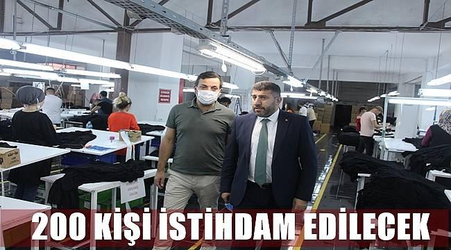 Efe Tekstil Ulubey'de üretiyor