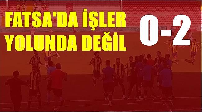 Fatsa Belediyespor galibiyeti unuttu