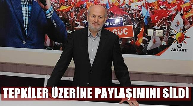 İlçe Başkanı Özdemir'e tepkiler büyüdü