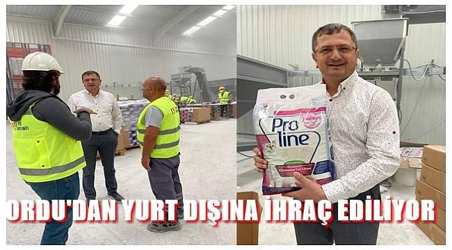 Lider Bentonit Fatsa'da üretime başladı