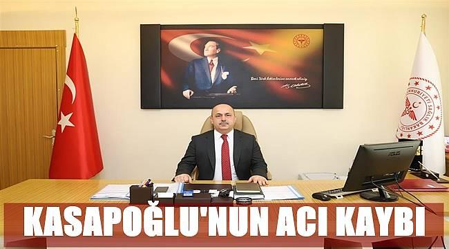 Ordu Sağlık Müdürü Mustafa Kasapoğlu'nun acı kaybı