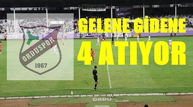 Orduspor 1967, Çankaya Futbol Kulübünü farklı yendi: 4-0