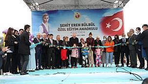 Şehit Eren Bülbül Özel Eğitim Anaokulu törenle açıldı