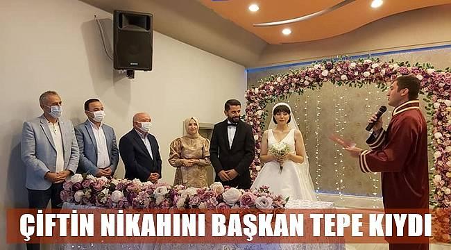 Uğur Yavuz ile Ebru Çıtak evlendi