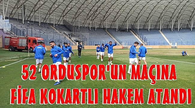 52 Orduspor- Bayrampaşa maçını FİFA Kokartlı Melis Özçiğdem yönetecek