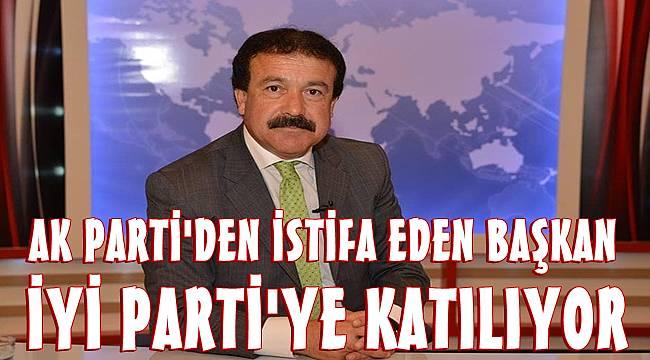 AK Parti'den istifa eden Belediye Başkanı İYİ Parti'ye katılıyor