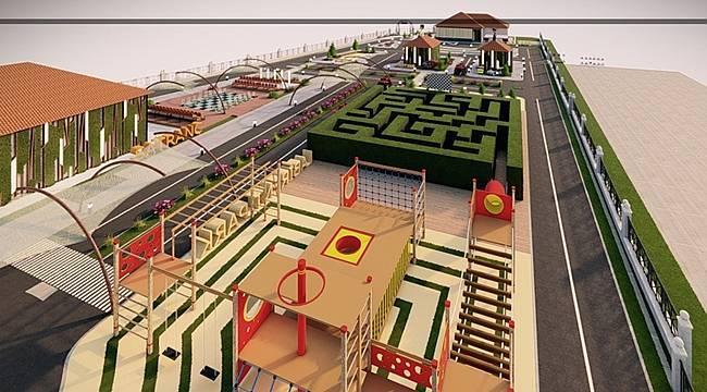 Altınordu Belediyesi'nden Trafik Eğitim Parkı