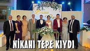 Banu ile Ozan evlendi