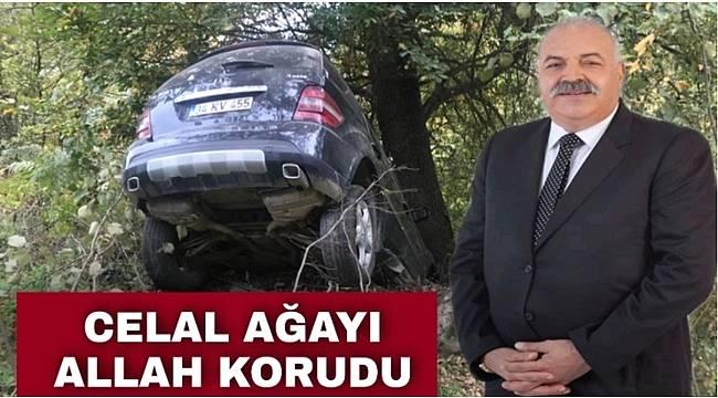 Celal Danış trafik kazası geçirdi