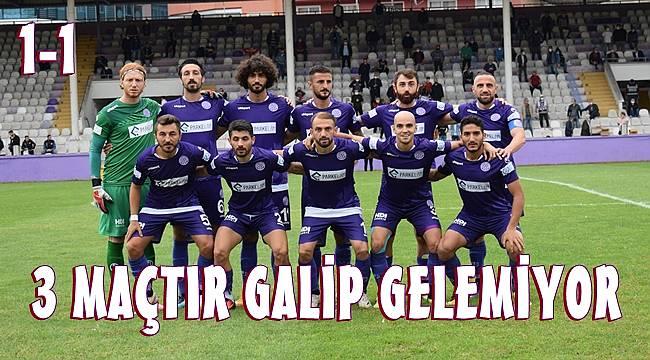 Iğdır FK-52 Orduspor maç sonucu: 1-1