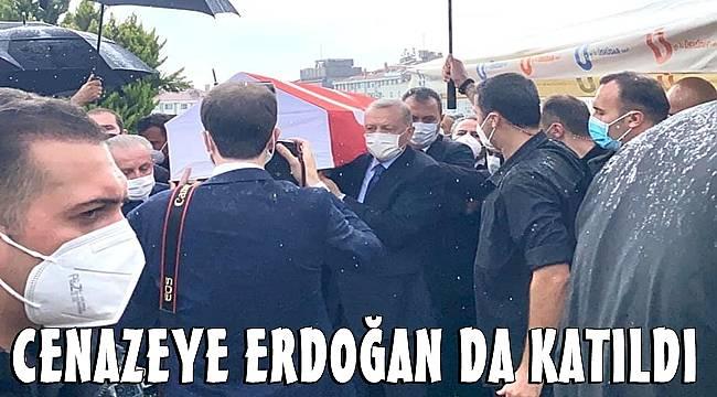 Milletvekili İsmet Uçma'nın cenazesine Cumhurbaşkanı Erdoğan da katıldı