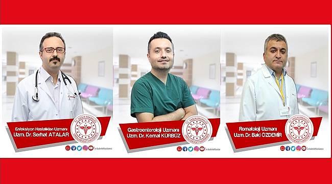 Ordu Devlet Hastanesi'nde 3 uzman doktor hasta kabulüne başladı