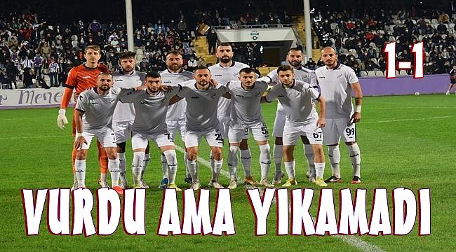 Ordupsor 1967- Fethiyespor maç sonucu: 1-1