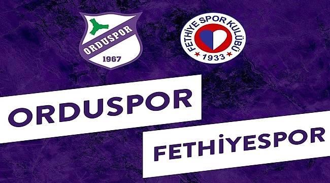 Orduspor 1967, Fethiyespor maçını hangi kanal yayınlayacak