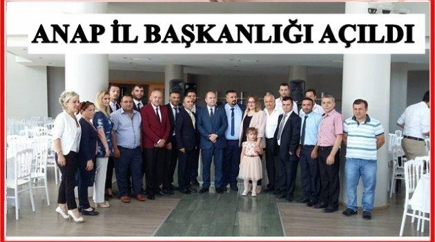 ANAVATAN PARTİSİ TEŞKİLATLANIYOR