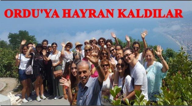 ANTALYA'DAN GELDİLER