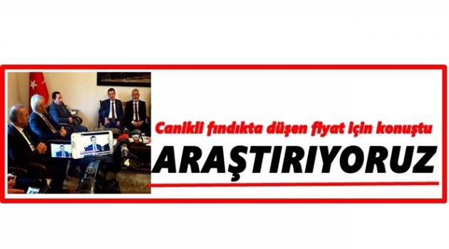 CANİKLİ ORDU'DA KONUŞTU