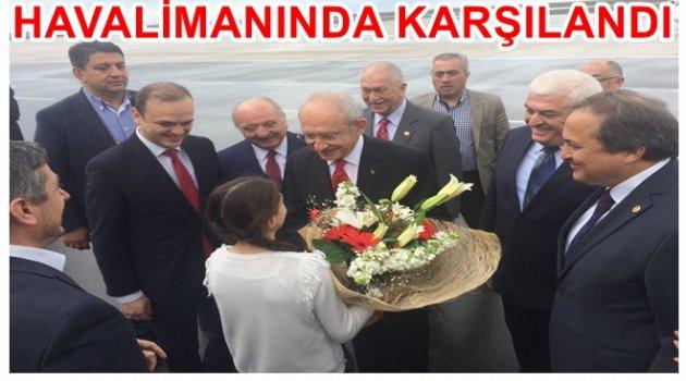CHP LİDERİ KILIÇDAROĞLU ORDU'DA