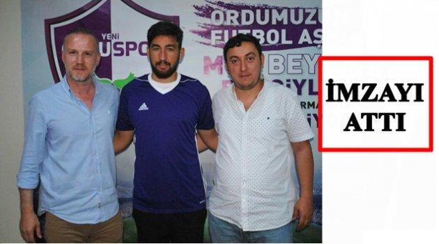 FAHRİ EREN PAMUK YENİORDUSPOR'DA