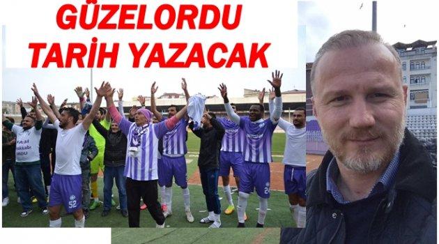 GÜZELORDU'DA TEK HEDEF 3.LİG