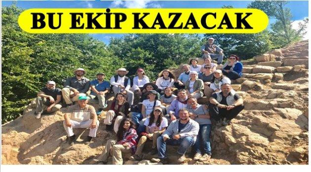 KURUL'DA KAZI TEKRAR BAŞLADI