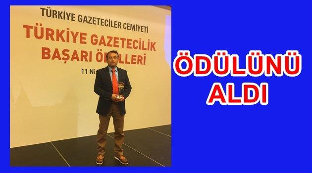 AKYÜREK ÖDÜLÜNÜ İSTANBUL'DA ALDI