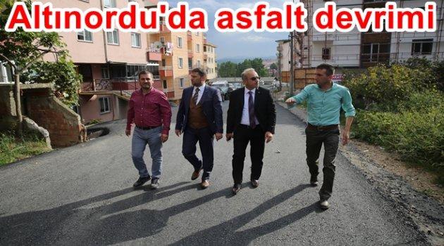 ALTINORDU ASFALTLIYOR
