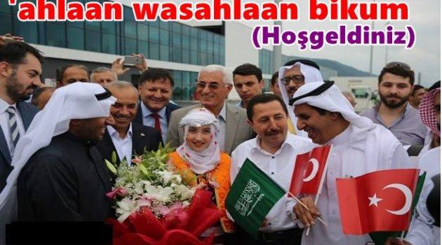 ARAP TURİSTLER GELDİ