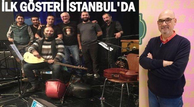 AŞKLAR VE ŞARKILARLA ORDU MÜZİKLİ GÖSTERİ İSTANBUL'DAYDI