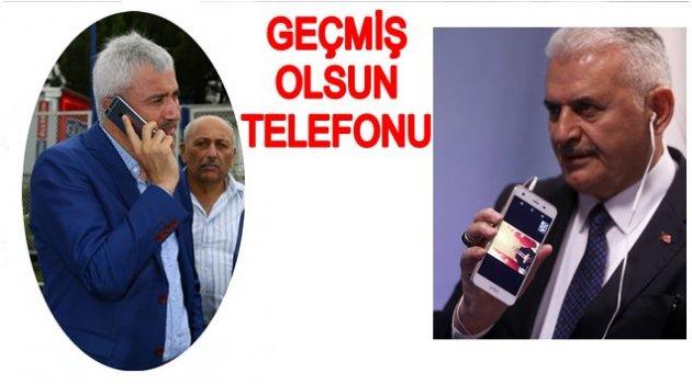BAŞBAKAN YILDIRIM BAŞKAN YILMAZ'I TELEFONLA ARADI