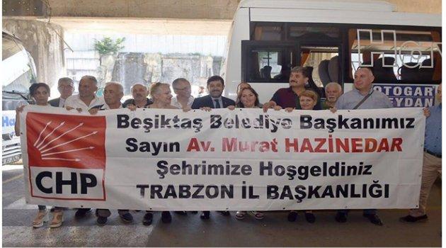 BAŞKAN HAZİNEDAR'A BÜYÜK İLGİ