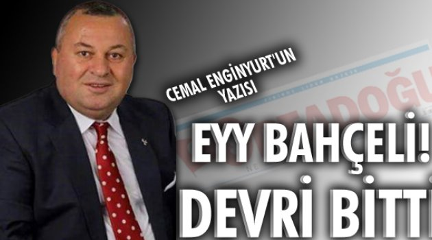CEMAL ENGİNYURT ORTADOĞU GAZETESİ'NDE YAZDI