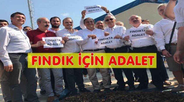 CHP FINDIKTA ADALET İSTEDİ