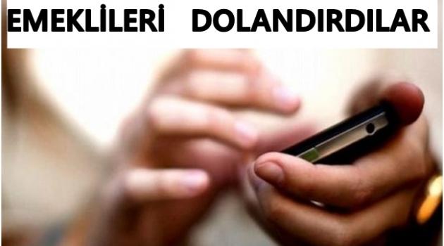 EMEKLİLERİ BAKIN NASIL DOLANDIRIYORLAR