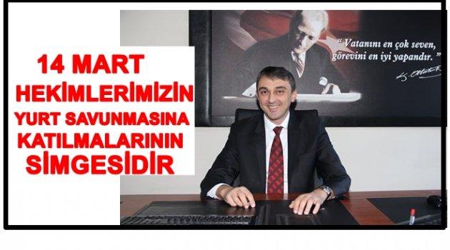 ENGİNYURT'TAN 14 MART TIP BAYRAMI MESAJI