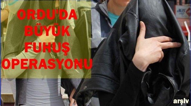 FUHUŞ OPERASYONUNDA 38'İ KADIN 48  KİŞİ YAKALANDI
