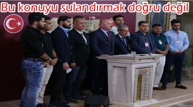 GÜNDOĞDU: KARADENİZLİLER PKK'YA RÜŞVET VERMEZ