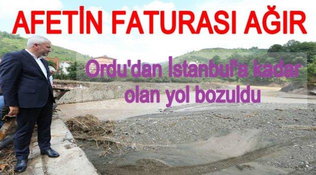 İLK ETAPTA ZARAR 150 MİLYONLİRA